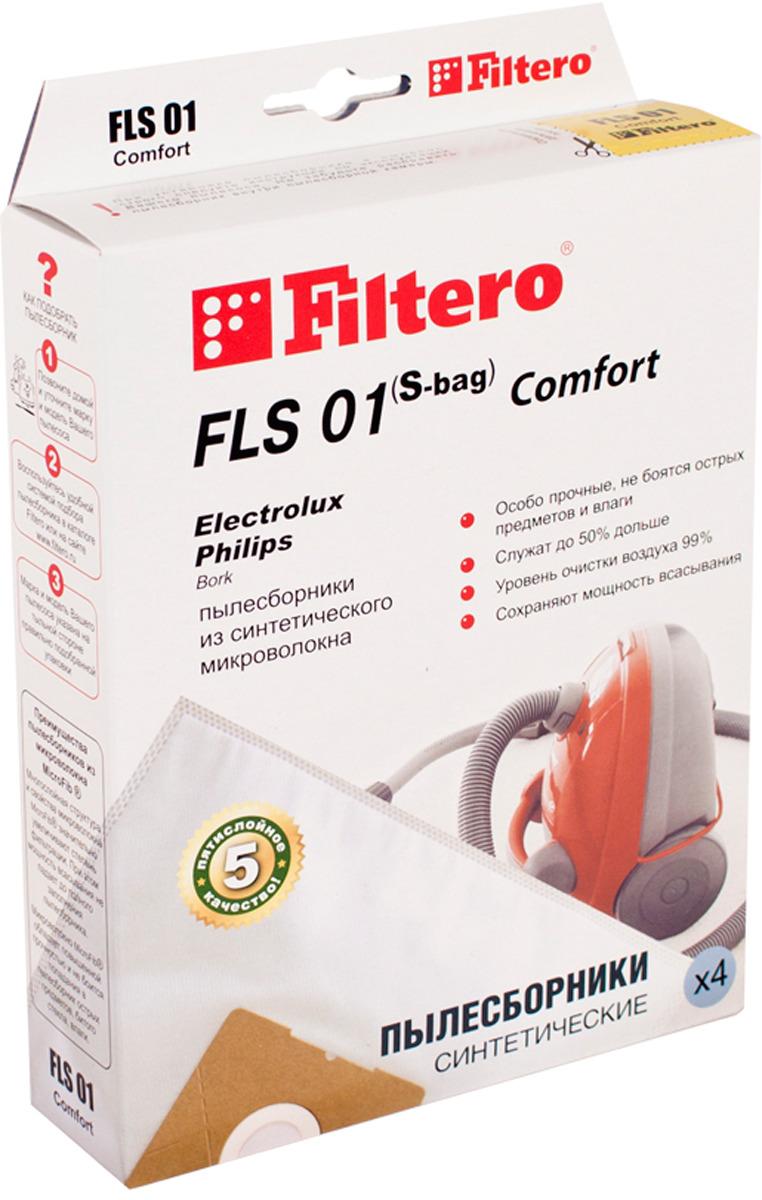 Пылесборник для пылесосов Filtero FLS 01 (S-bag) (4) nb670gq z nb670 adzd qfn
