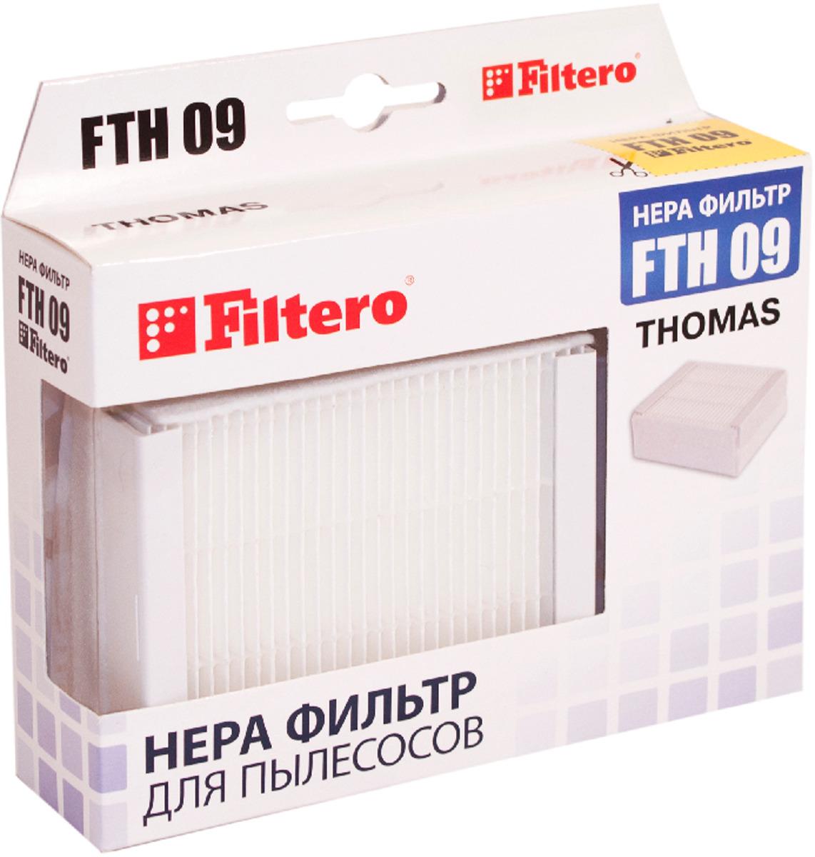HEPA фильтр Filtero FTH 09 TMS, для пылесосов Thomas XT цена и фото