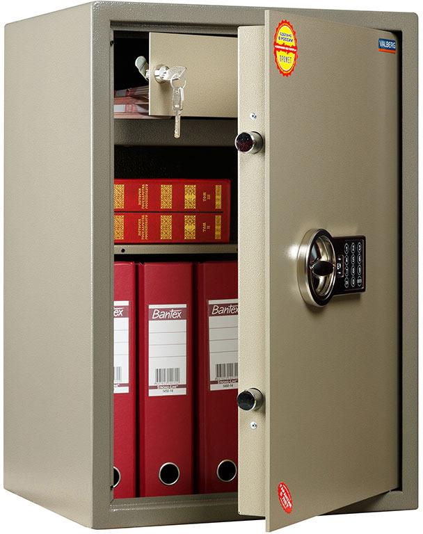 Сейф Valberg ASM 63T-EL, цвет: коричневый цена
