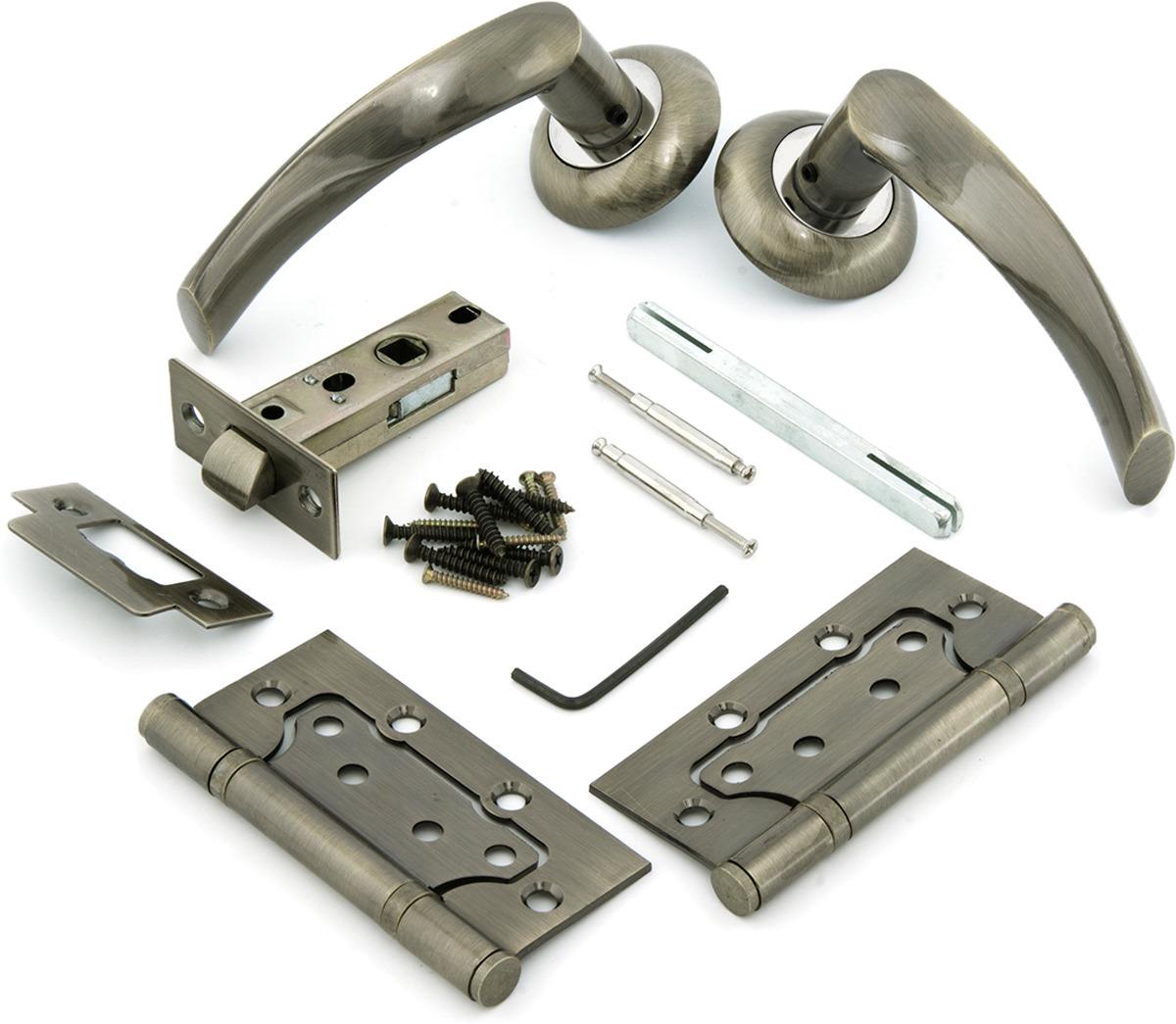 Комплект для двери Фабрика замков, цвет: бронза. СТ-00000005 комплект для двери фабрика замков ст 00000100