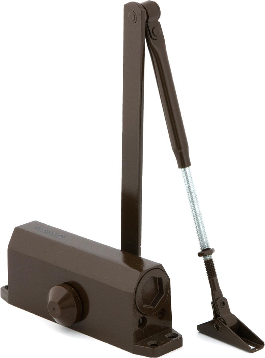 Доводчик дверной Фабрика замков, цвет: коричневый. СТ-00000122 цена