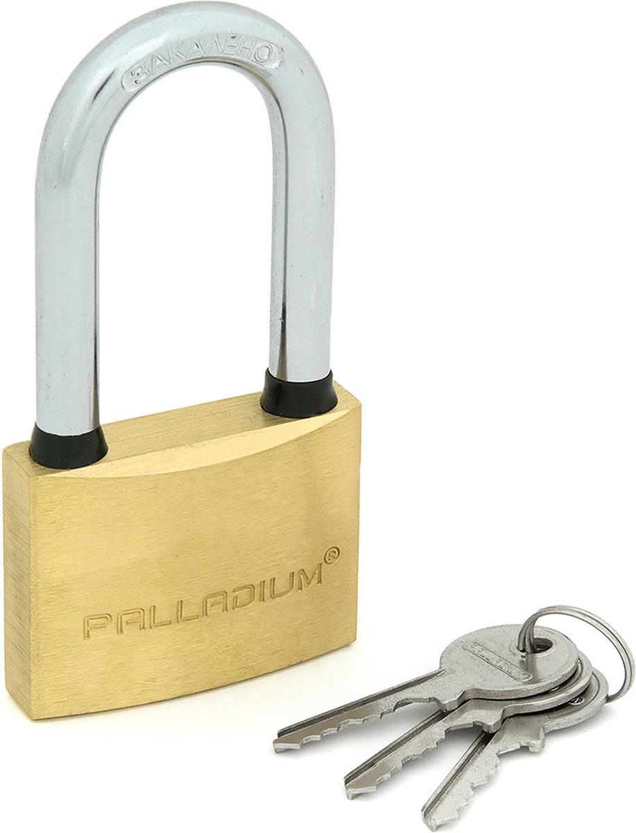 Замок навесной Palladium, цвет: желтый. 00009254 цена