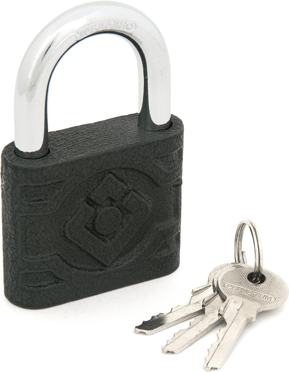 Замок навесной Palladium, цвет: черный. 00009280 замок навесной palladium цвет синий 00010101