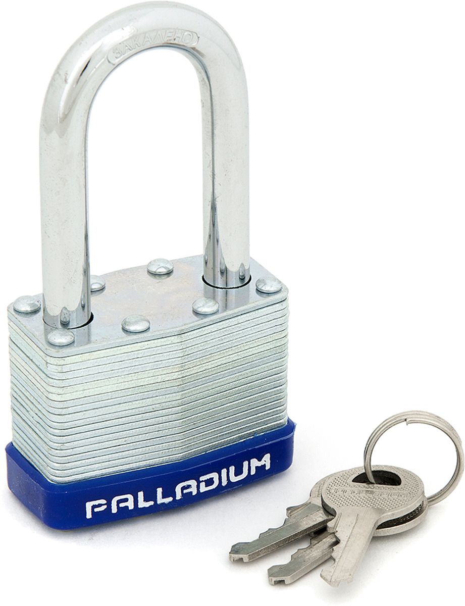 все цены на Замок навесной Palladium, цвет: серый металлик. 00009295 онлайн