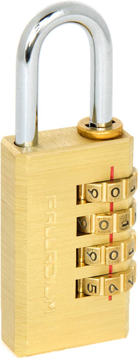 Замок навесной Palladium, цвет: желтый. 00009308 замок навесной onguard сталь 35х42мм кодовый