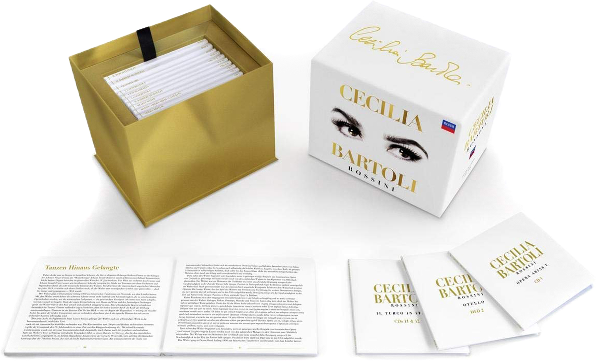 Чечилия Бартоли Cecilia Bartoli. Rossini Edition (13 CD)