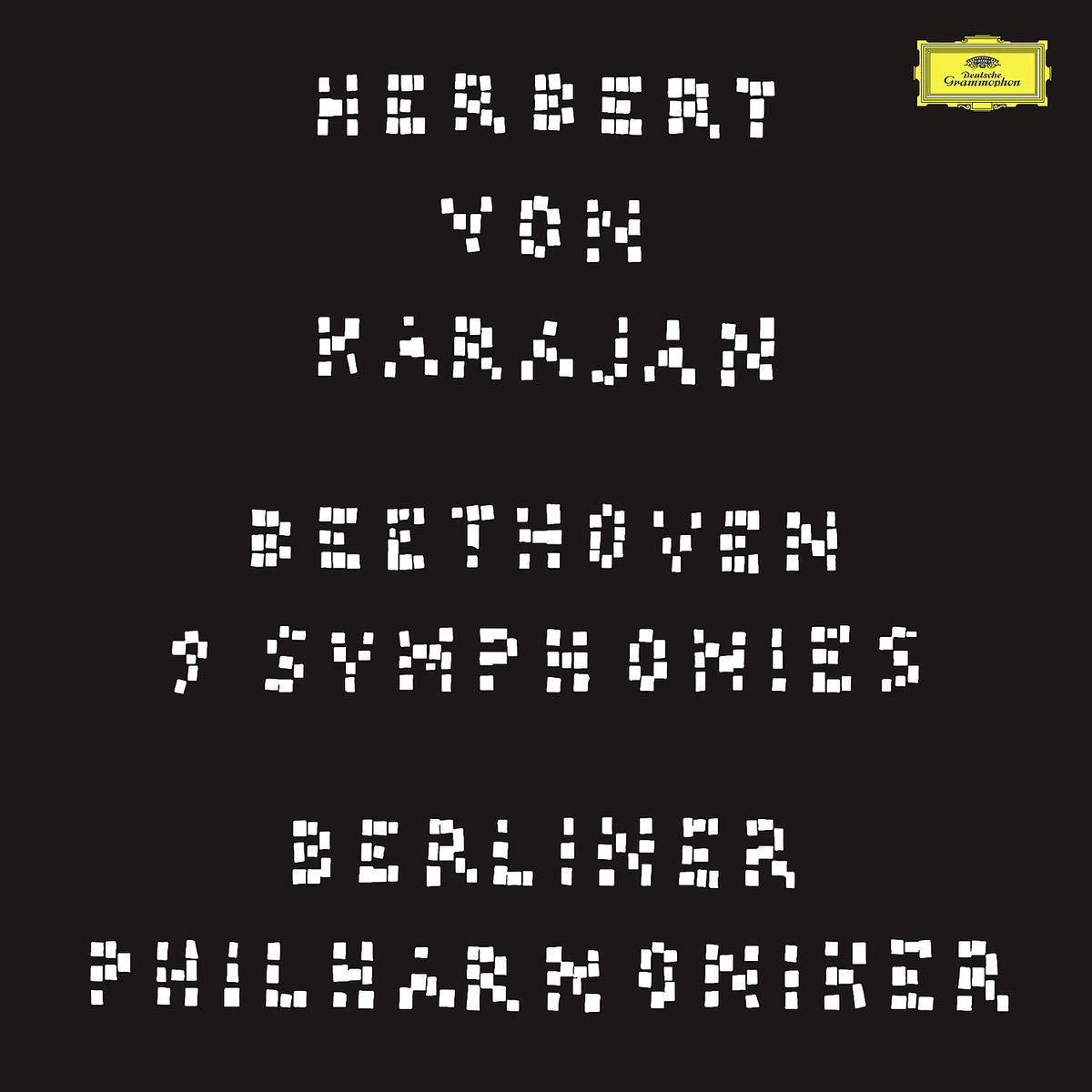 Герберт Караян,Berliner Philharmoniker Herbert Von Karajan, Berliner Philharmoniker. Beethoven. Symphony No.9 (8 LP) beethoven beethovenevgeny kissin recital 3 lp