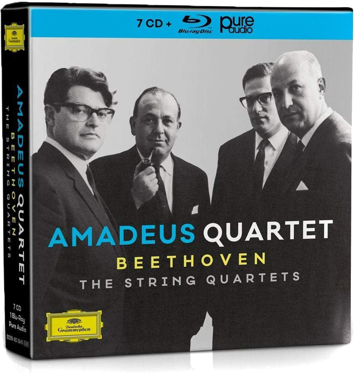 Amadeus Quartet Amadeus Quartet. Beethoven. The String Quartets. Collectors Edition (7 CD + Blu-ray) f neruda string quartet no 4 op 35