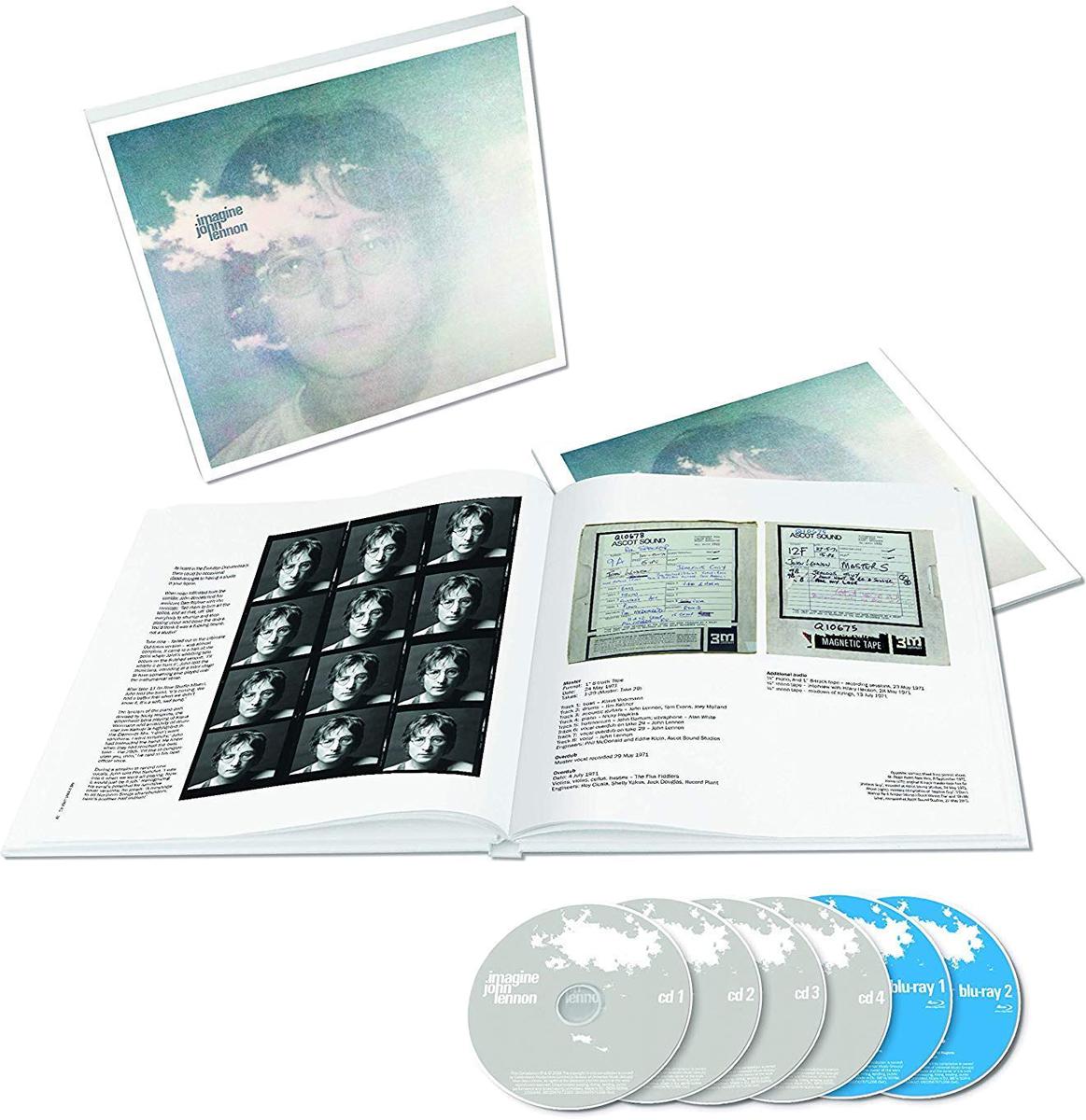 Дж. Джон Леннон John Lennon. Imagine (4 CD + 5 Blu-ray)