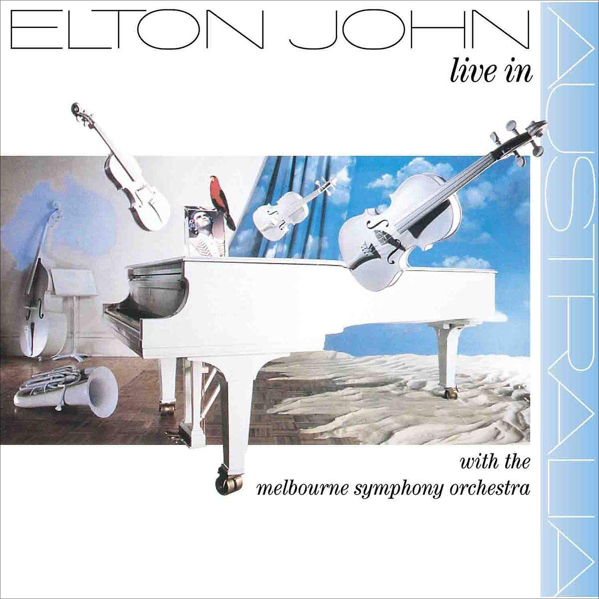 Элтон Джон Elton John. Live In Australia. With The Melbourne Symphony Orchestra (2 LP) australia 100 page 8
