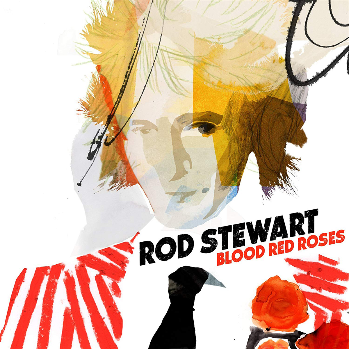 Род Стюарт Rod Stewart. Blood Red Roses (2 LP) in cold blood