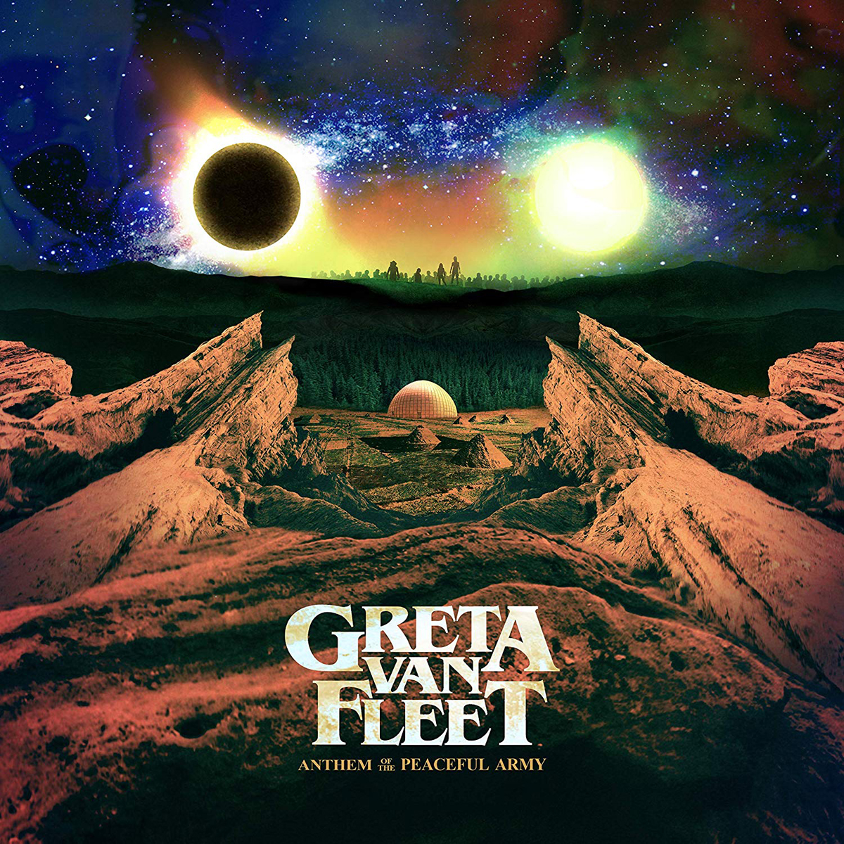 Greta Van Fleet Greta Van Fleet. Anthem Of The Peaceful Army (LP) greta van fleet edmonton