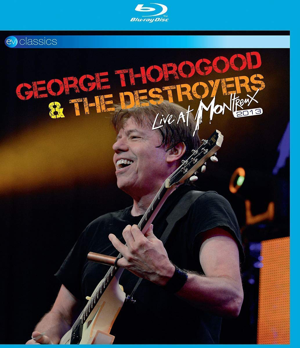 Джордж Торогуд George Thorogood. Live At Montreux 2013 (Blu-ray) bruce foxton live at the camden palace