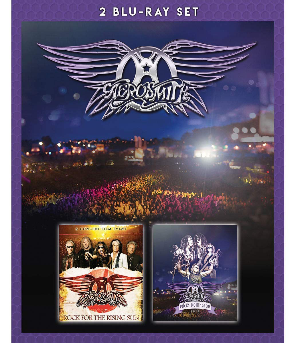 Фото - Aerosmith Aerosmith. Rock For The Rising Sun/ Rocks Donington (2 Blu-ray) dream theater live at luna park blu ray