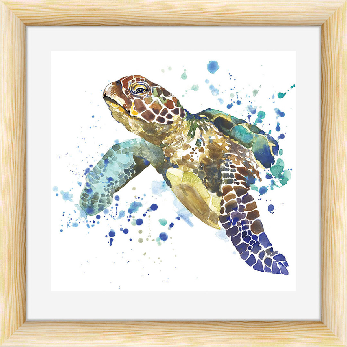 Картина Postermarket Черепаха, 40 х 40 см цена