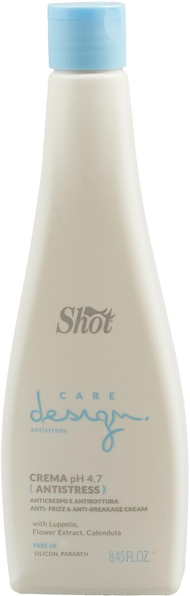 Shot Care and Glamour Antistress Cream - Крем анти-стресс со смягчающим и распутывающим действием 250 мл