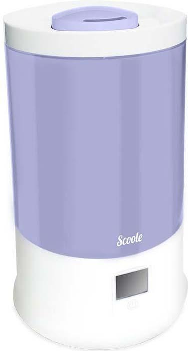 Ультразвуковой увлажнитель воздуха Scoole, цвет: сиреневый, 2,4 л