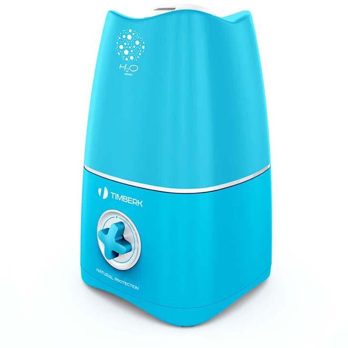 Ультразвуковой увлажнитель воздуха Timberk, цвет: голубой, 2,6 л