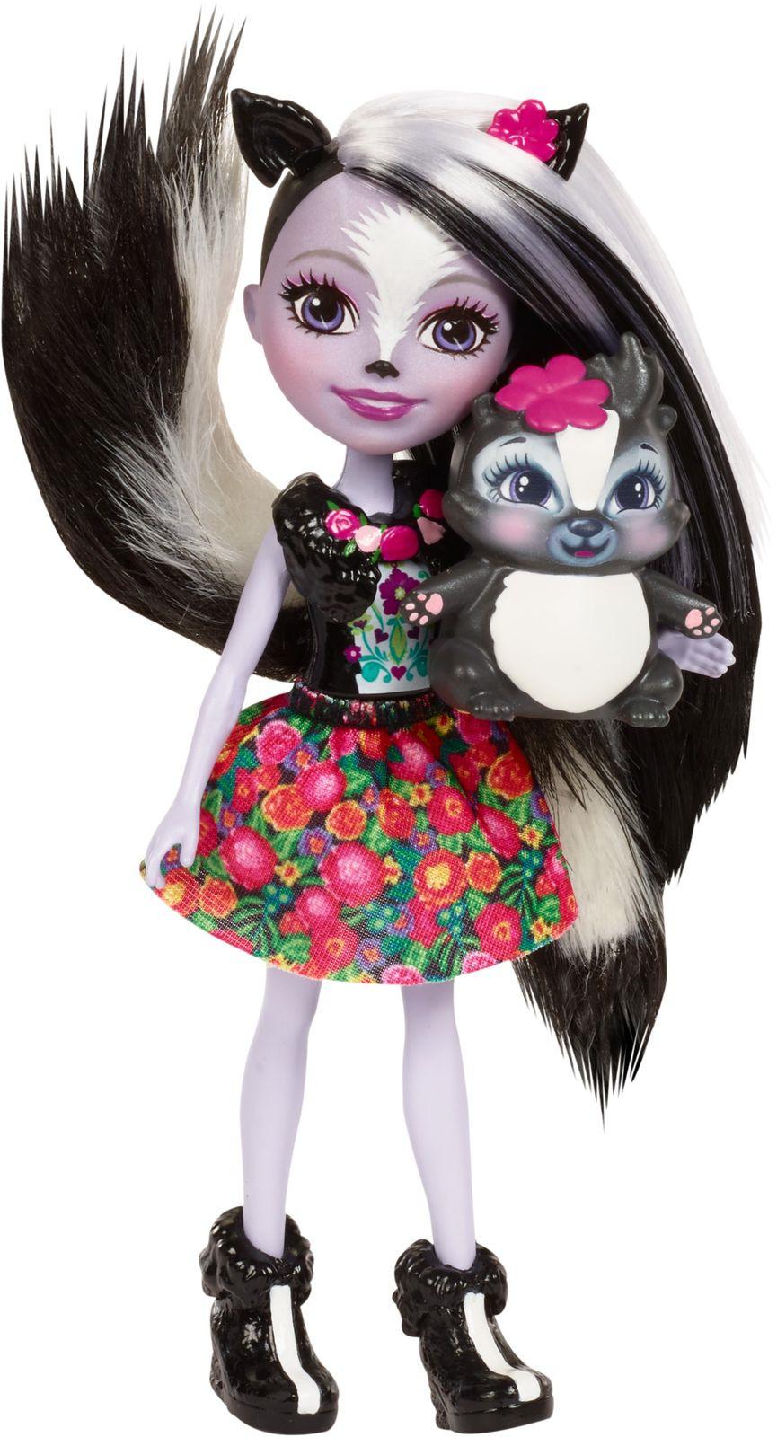 Enchantimals Игровой набор с куклой Sage Scunk игровой набор с куклой bayer design 9387700