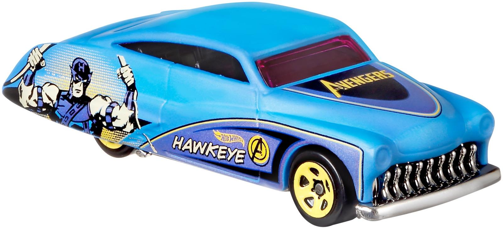 Hot Wheels Трековые машинки Мстители 3 Purple Passion цены онлайн