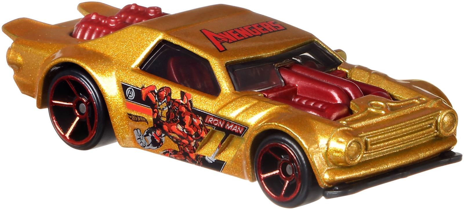 Hot Wheels Трековые машинки Мстители 3 Night Shifter цены онлайн