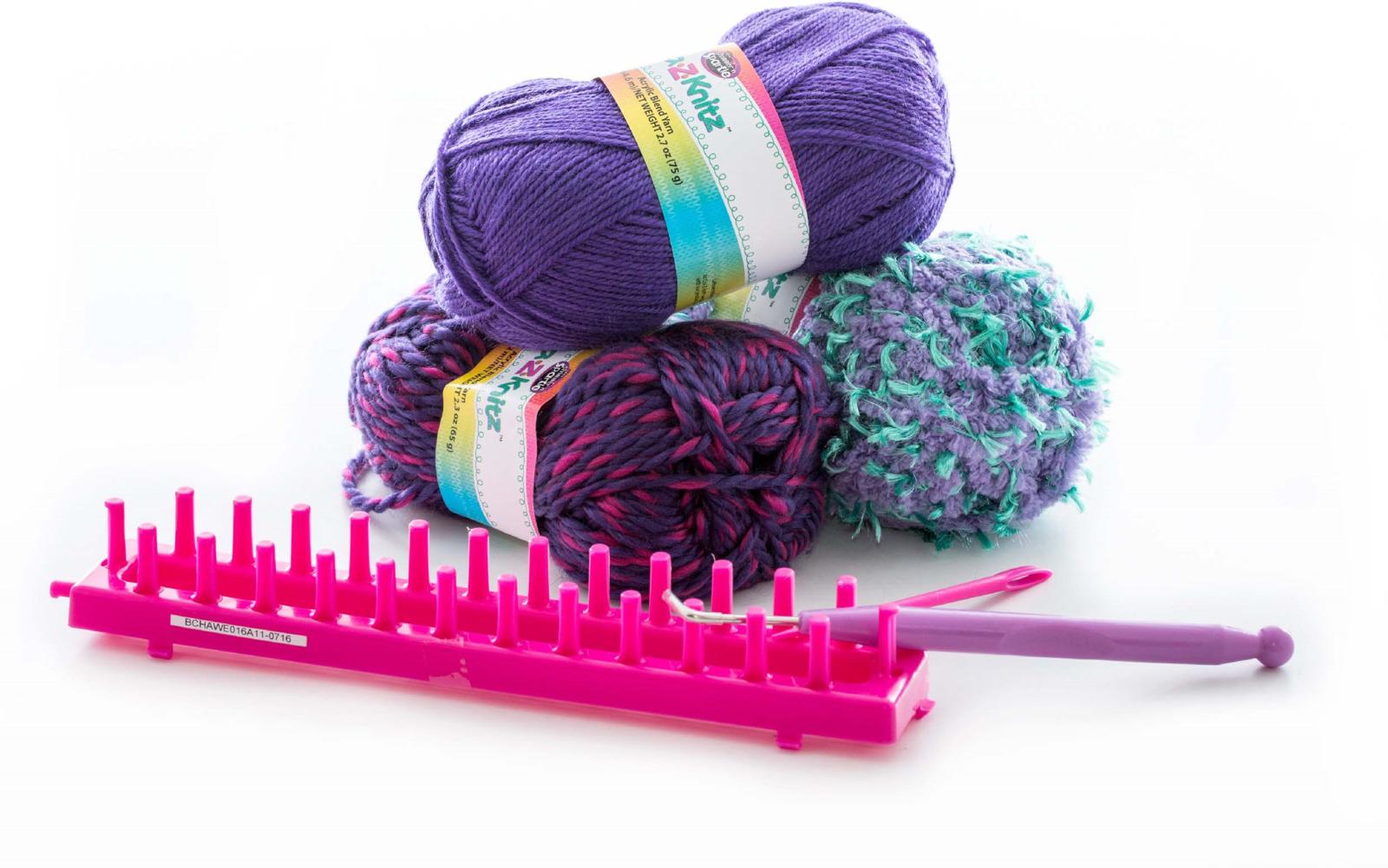 Cra-Z-Knitz Набор для вязания Шарф-хомут 17435 цены онлайн