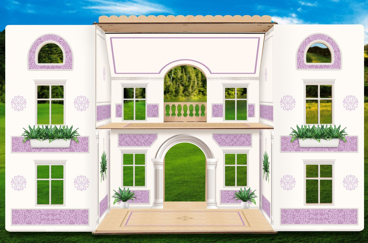 Мебель для кукол ЯиГрушка Лавандовое утро, 59833 пользовательские обои mural средиземноморский стиль строительство 3d фото плакат фон фото обои для гостиной ресторан
