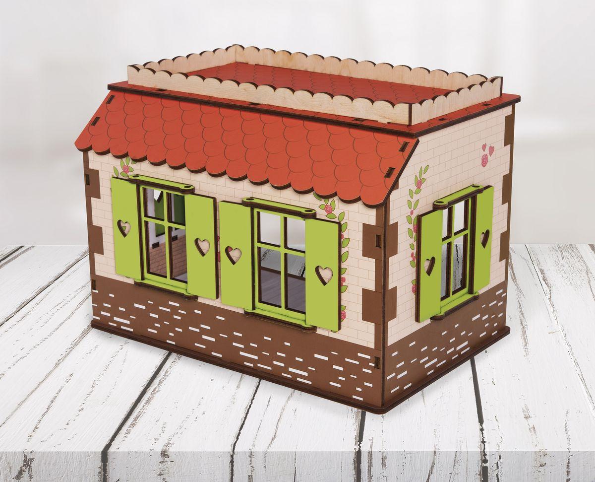 Дом для кукол ЯиГрушка Маленькая мечта, 59831 дом для кукол яигрушка маленькая мечта 59831