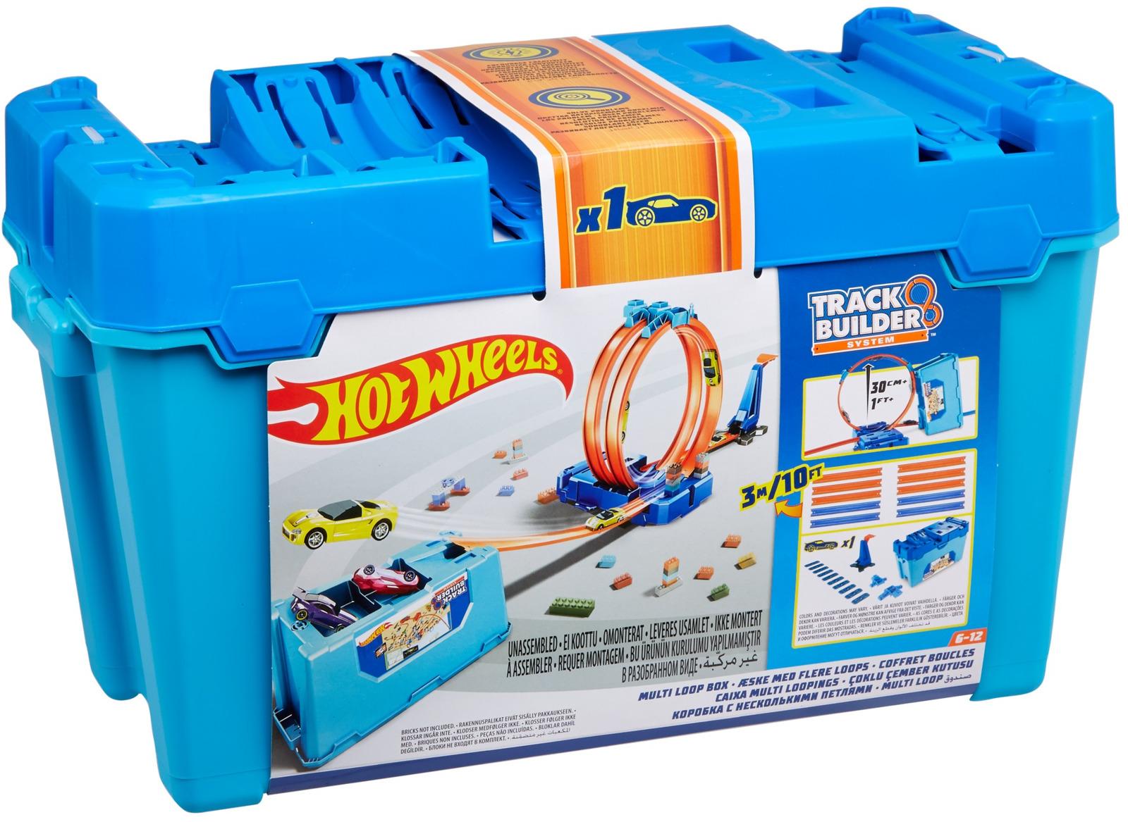 Hot Wheels Игрушечный трек Конструктор трасс Супер петля FLK89_FLK90 конструктор гоночный трек