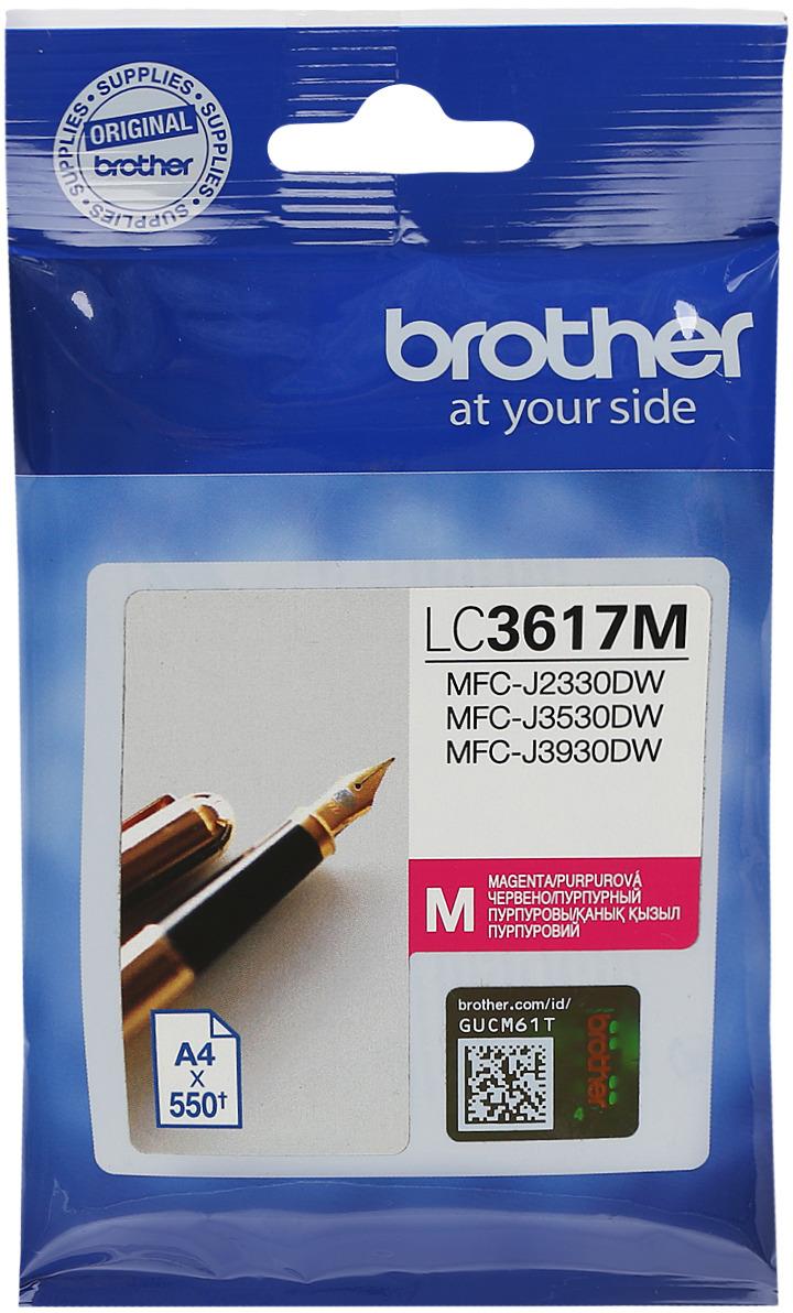 Brother LC3617M, Magenta картридж для Brother MFC-J3530DW/J3930DW картридж brother lc3619xlc голубой cyan 1500стр для brother mfc j3530dw j3930dw