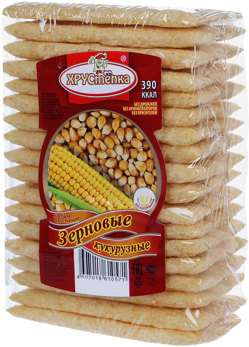 Хлебцы кукурузные ХРУСтёпка Зерновые, 80 г10571Хлебцы Зерновые кукурузные ТМ ХРУСтепка натуральный продукт, с полезными группами витаминов Е, PP, D, K, которые содержатся в зернах кукурузы. Которые способствуют нормализации работы кишечника, благоприятно влияет на процесс пищеварения, и придает сытость на весь день.Уважаемые клиенты! Обращаем ваше внимание на то, что упаковка может иметь несколько видов дизайна. Поставка осуществляется в зависимости от наличия на складе.