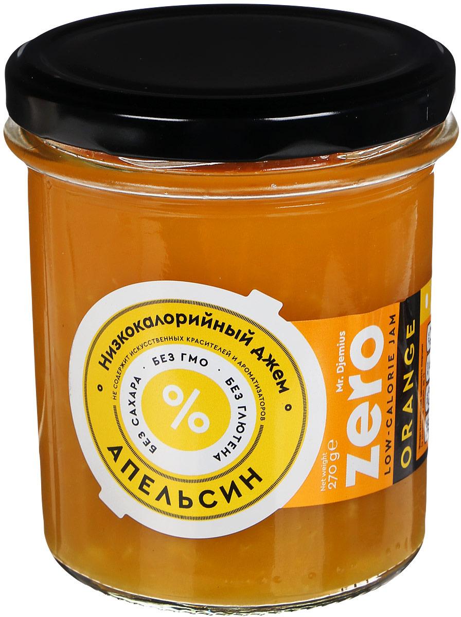 все цены на Mr. Djemius zero низкокалорийный джем апельсин, 270 г онлайн