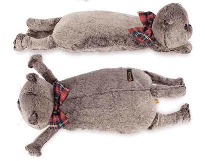Basik & Ко Кот-подушка Басик Мягкая игрушка 40 см