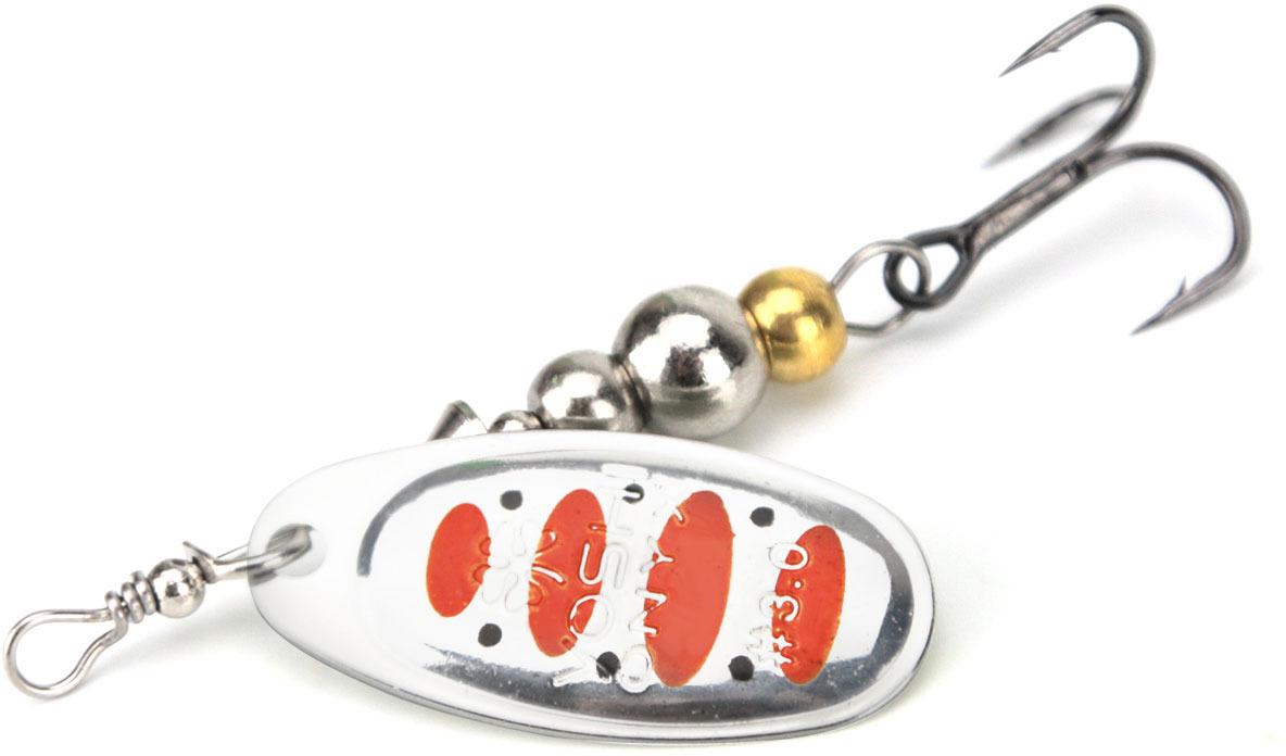 Блесна Yoshi Onyx Ballistic Obtuse Blade Spinner №1, цвет: 03 серебристый удилище спиннинговое yoshi onyx genta 862mh