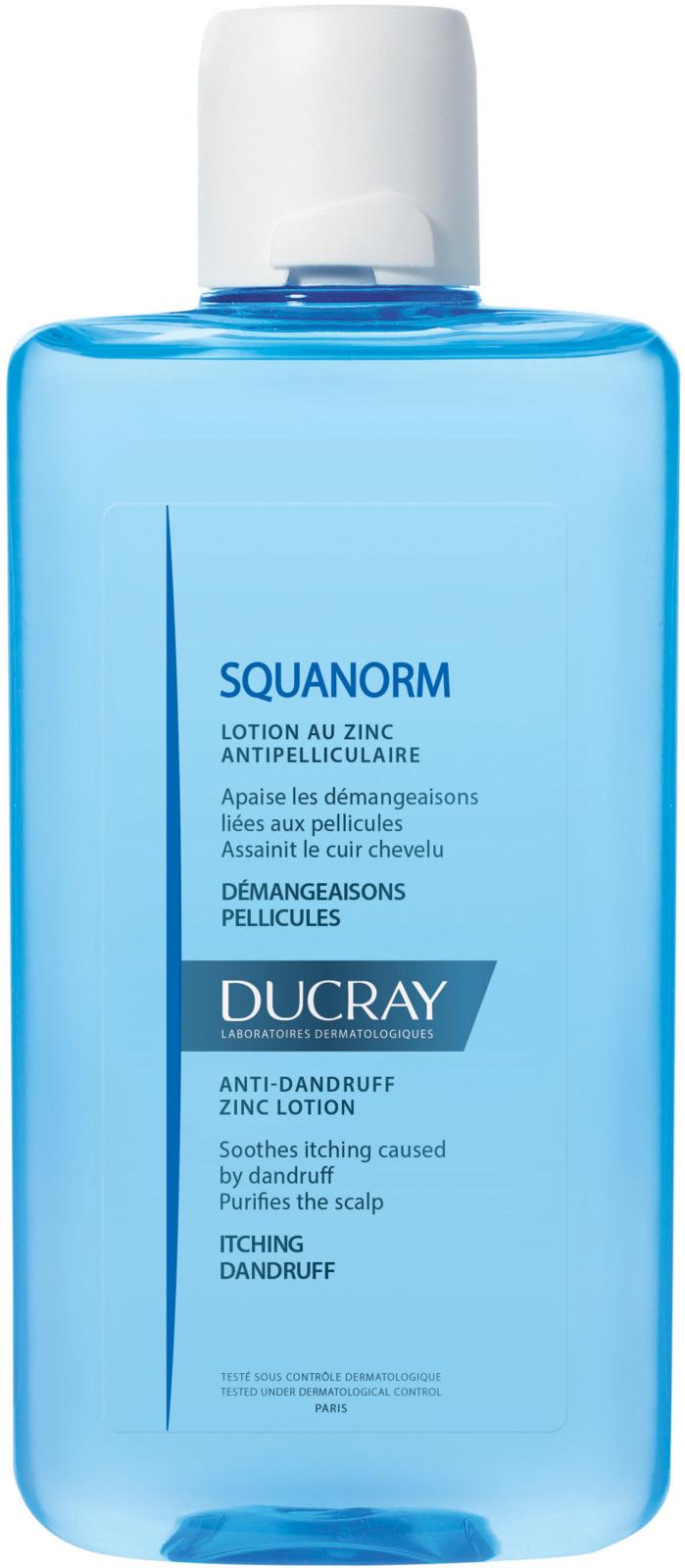 Ducray Лосьон от перхоти с цинком Squanorm, 200 мл ducray squanorm купить в москве