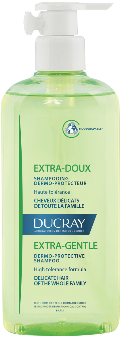 Ducray Экстра-Ду Защитный шампунь для частого применения, 400 мл ducray экстра ду шампунь
