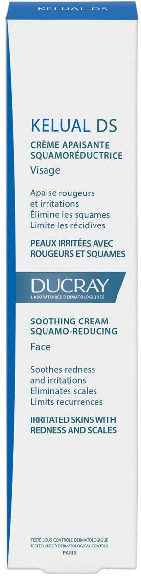 Ducray Смягчающий крем для устранения шелушений Келюаль DS, кераторедуктор, 40 мл келюаль ds купить