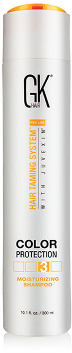 Шампунь увлажняющий GKhair Moisturizing Shampoo, для защиты цвета волос, 300 мл