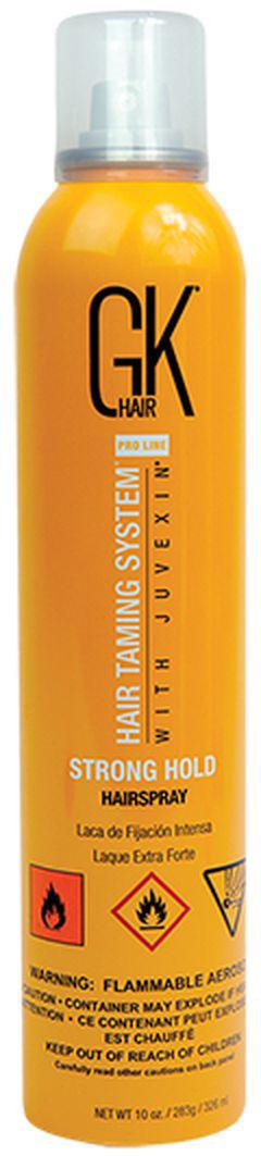 Лак для волос GKhair Hair Spray Strong Hold, сильной фиксации, 326 мл paul mitchell лак для волос средней фиксации super clean spray 300 мл