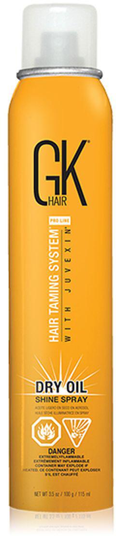 Спрей-блеск для волос GKhair Dry Oil, 115 мл цена