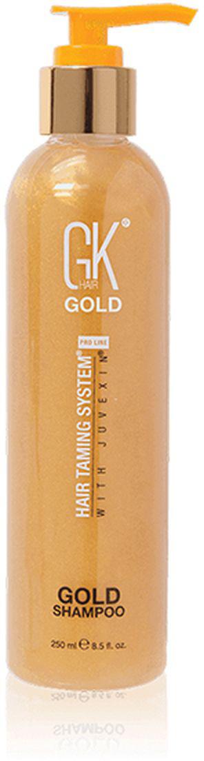 Шампунь для волос GKhair Gold, лимитированная серия, 250 мл keen aufbau shampoo шампунь для волос восстанавливающий с кератином 250 мл