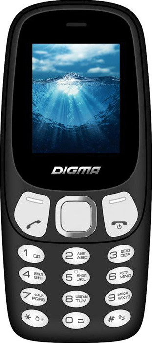Фото - Мобильный телефон Digma Linx N331 Mini 2G, черный digma linx n331 2g серый