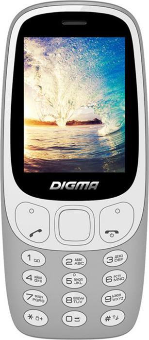 Фото - Мобильный телефон Digma Linx N331 2G, серый digma linx n331 2g серый