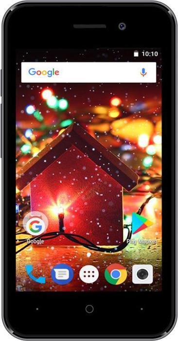 Смартфон Digma HIT Q401 1/8GB grey titanium