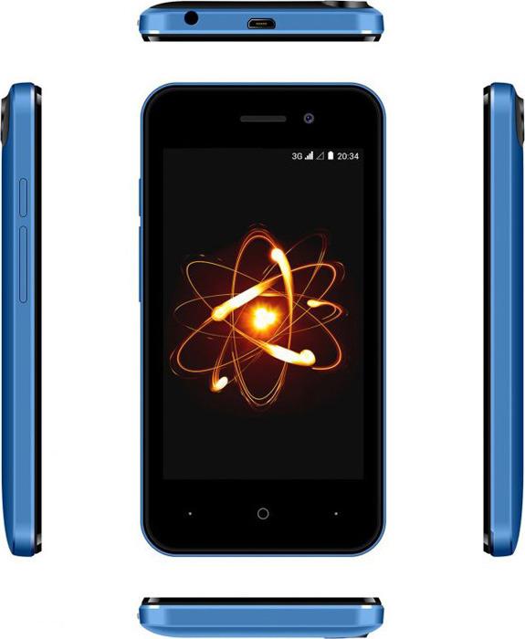 Смартфон Digma Linx Atom 0,5/4GB, синий Digma
