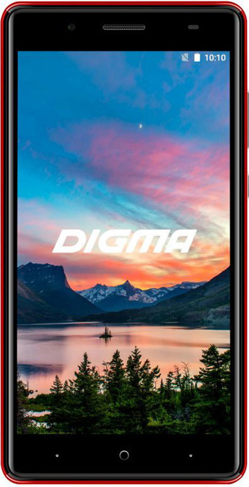 Смартфон Digma Hit Q500 3G 1/8GB red цена