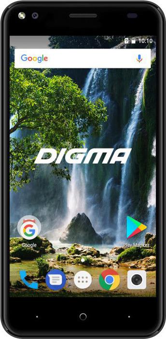 Смартфон Digma E502 4G VOX 1/16GB, темно-синий цена