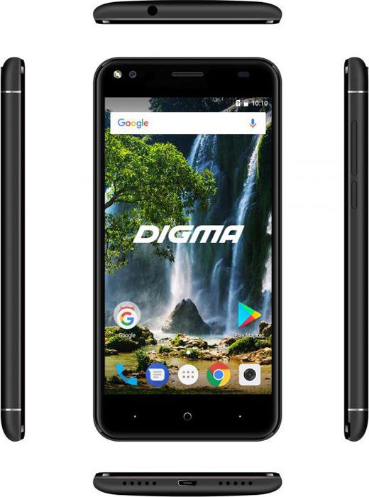 Смартфон Digma E502 4G Vox 1/16GB, черный Digma