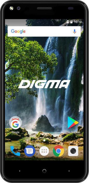 Фото - Смартфон Digma E502 4G Vox 1/16GB, серый смартфон digma vox e502 4g black