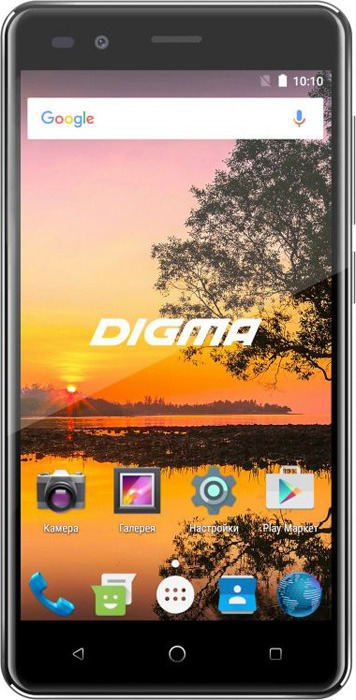 Смартфон Digma S513 4G Vox 1/16GB, черный смартфон digma vox s513 4g 16gb черный vs5035ml